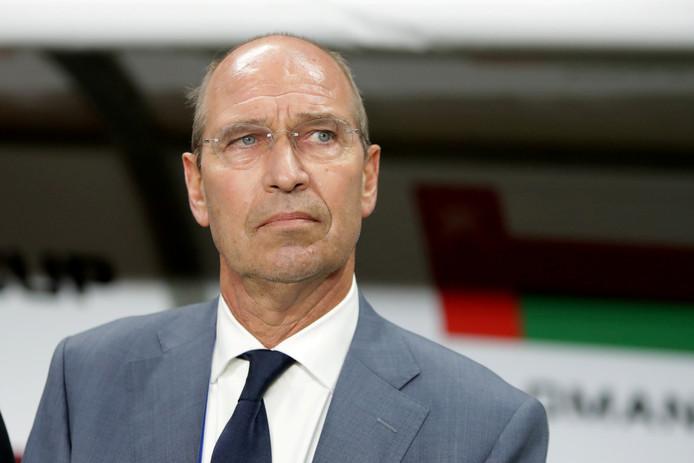 Pim Verbeek, voormalig voetbaltrainer van onder meer De Graafschap.