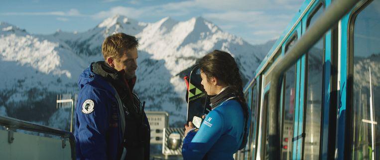 Jérémie Renier in 'Slalom'.  Beeld charlie bus production