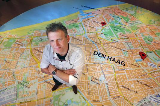 Joris Wijsmuller is voor de zesde keer lijsttrekker van de Haagse Stadspartij (HSP).