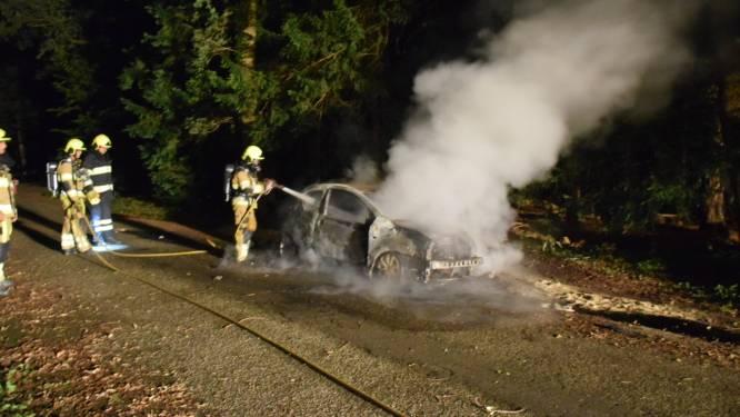 Auto brandt uit in Nijmeegse 'villawijk'