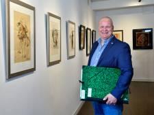 Nazaat wil expositie wijden aan Amersfoorter Martin Brink (1915-1975): 'Hij tekende desnoods op de muur'
