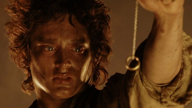 Elijah Wood in The Lord of the Rings: The Return of the King van Peter Jackson. Beeld
