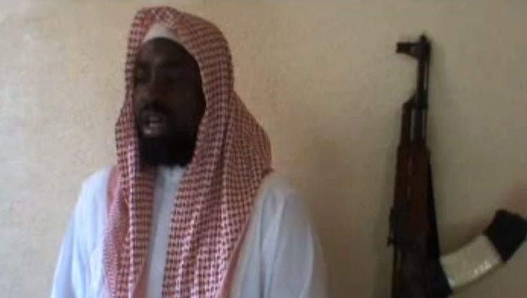 Imam Abubakar Shekau van Boko Haram. Beeld AFP