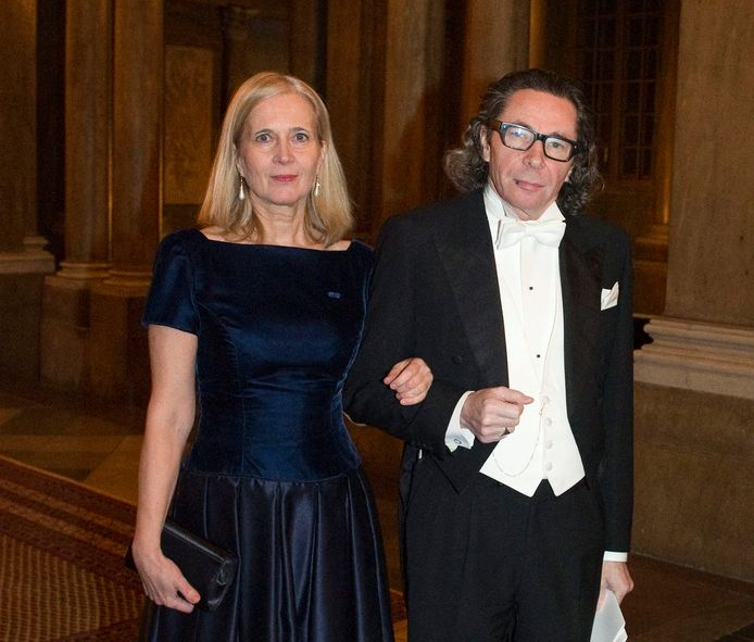 Katarina Frostenson en Jean-Claude Arnault.
