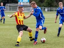 Joek van Herwijnen is de ster van de derde helft bij SC Klarenbeek