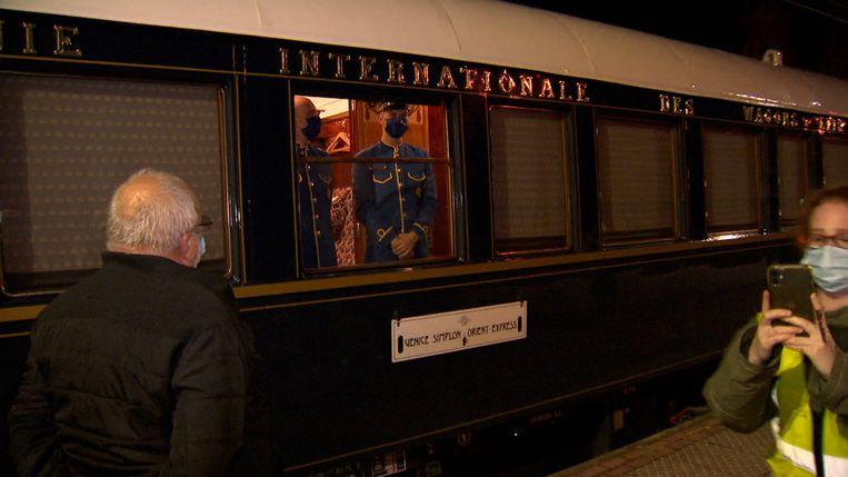 De Orient Express in Essen Beeld VTM NIEUWS