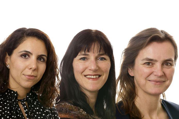 Yeliz Doğan, Rianneke Mees en Inge Visschedijk keren na de verkiezingen niet terug in de gemeenteraad van Den Bosch.
