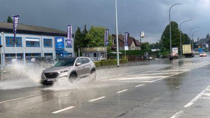 Code oranje: wolkbreuk doet straten en kelders onderlopen in Torhout