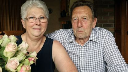 Frans en Renild uit Geel Bel vieren hun gouden huwelijksverjaardag