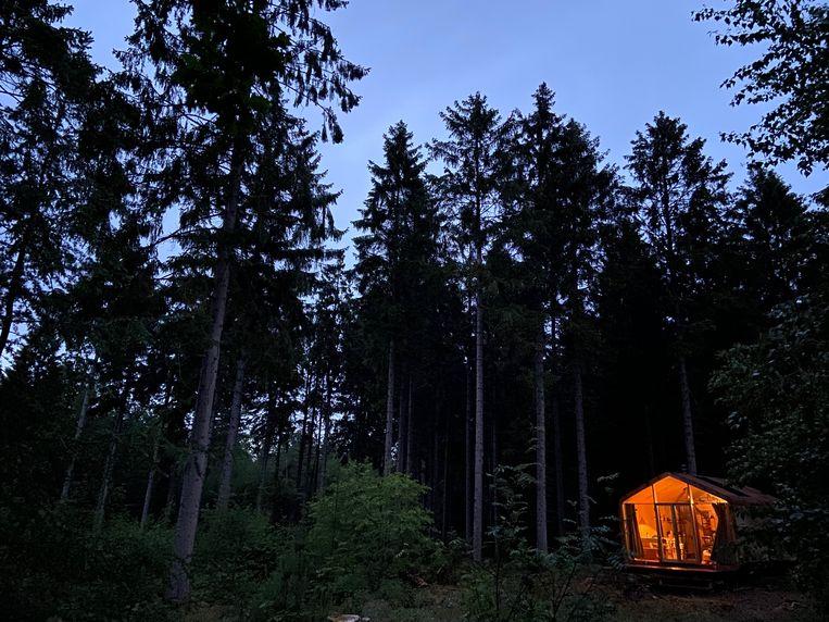 Hippe hutten op de hei: gedroomd voer voor Instagrammers. Beeld Matthijs Meeuwsen