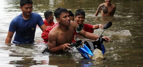 Acht doden bij overstromingen op Sulawesi na openzetten stuwdam