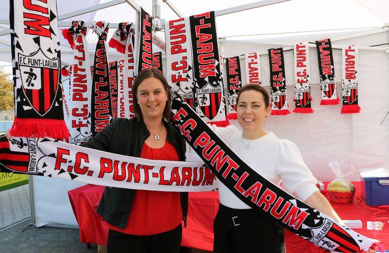 Carine Engelen & Hilde Van Reempts: de twee die-hardsupporters zijn trots op de clubkleuren én wat ze hebben verwezenlijkt.