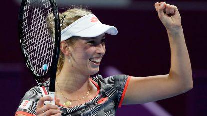 Elise Mertens opent tegen Chinese qualifier Lin Zhu in Dubai