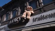 Ook Kortrijk zet voor kinderen knuffelberen 'aan' het raam