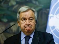 """Antonio Guterres (ONU) appelle à """"un monde qui tire des leçons"""""""