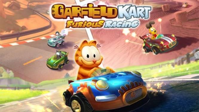 GAMEREVIEW Garfield Kart Furious Racing: een kwak diepvrieslasagne, iemand?