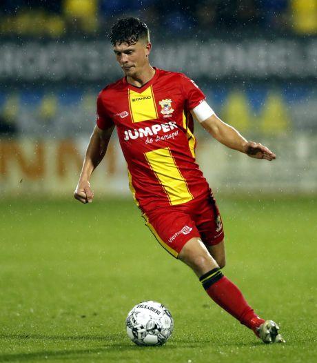 GA Eagles-captain Kuipers baalt van afgekeurde late goal tegen RKC: 'Volgens mij is het gewoon een duel'