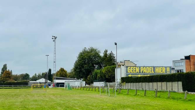 """Groen Aalst tegen wildgroei aan padelvelden: """"Geluidsintensiteit van padel is hoger dan bij tennis"""""""