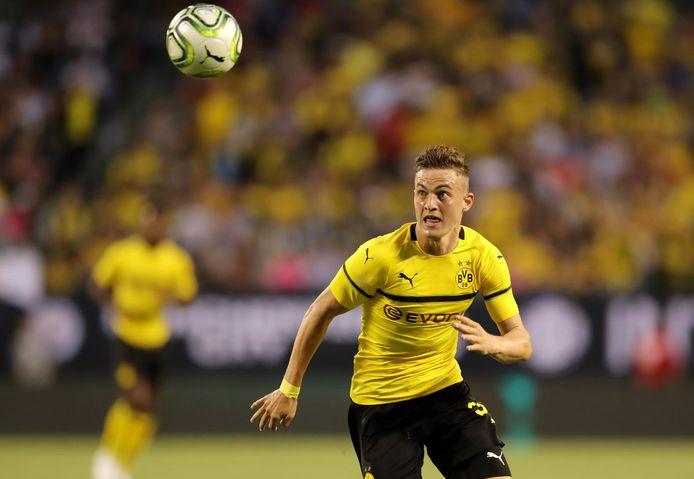 Jacob Bruun Larsen, hier nog in het shirt van Dortmund.