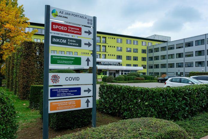 Covid-19 afdeling in Vilvoorde.
