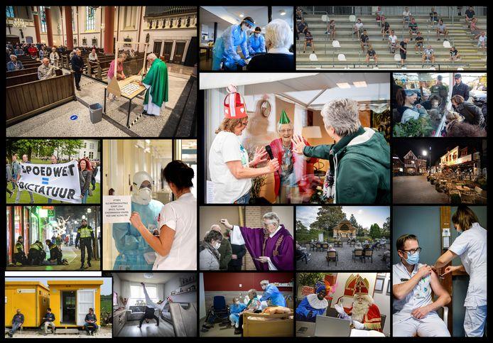 Collage van diverse beelden