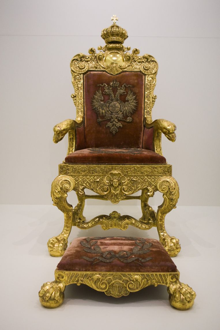 De troon van de tsaar.  Foto ANP Beeld