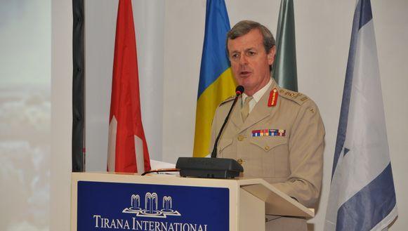 Alexander Richard Shirreff, voormalig plaatsvervangend geallieerd opperbevelhebber Europa bij de NAVO.