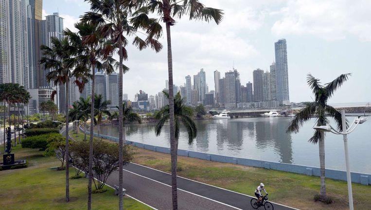 Wolkenkrabbers in Panama-Stad. Beeld afp