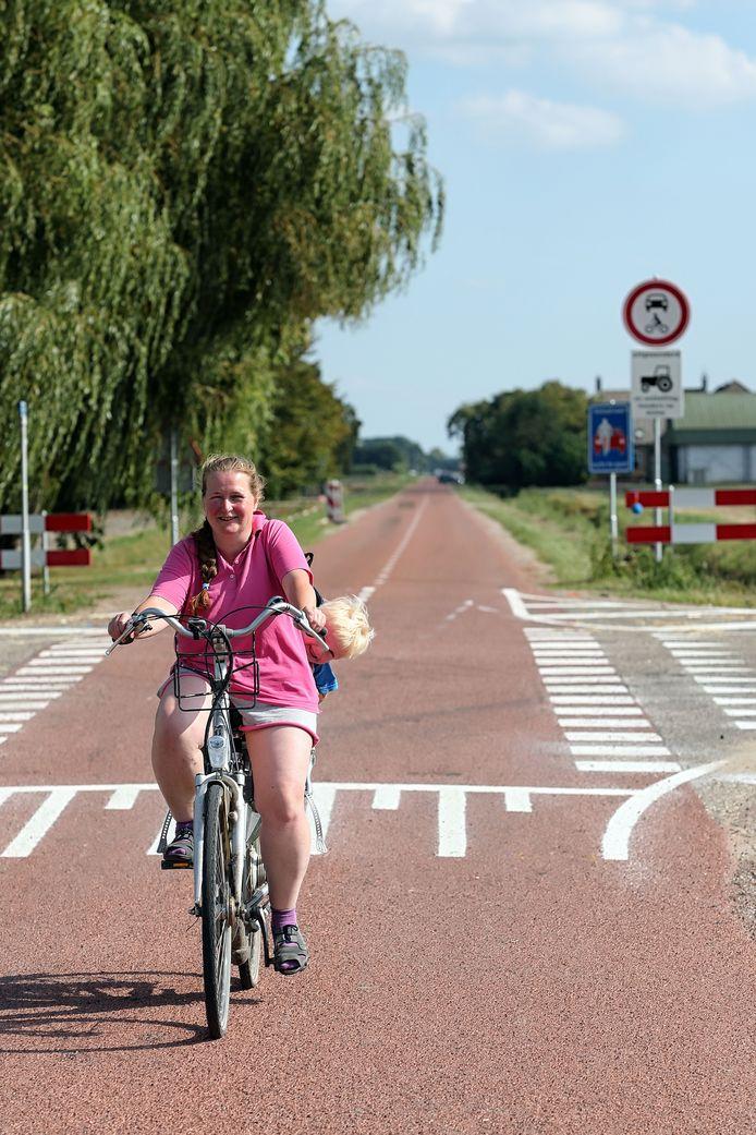 In 2016 werd de Noordlangeweg in Willemstad aangewezen als fietsstraat, dat wil zeggen en straat waarin auto's slechts te gast zijn, alleen welkom dus als ze in de straat moeten zijn.