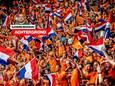 Oranje-fans in de Johan Cruijff Arena.