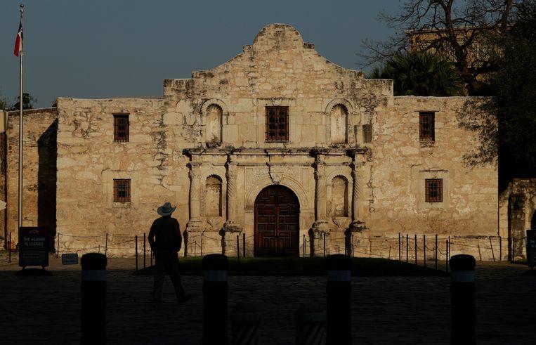 De Alamo in San Antonio. Beeld AP
