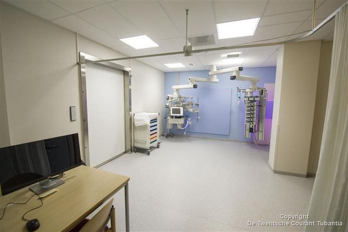 De nieuwe intensive care in Almelo in aanbouw
