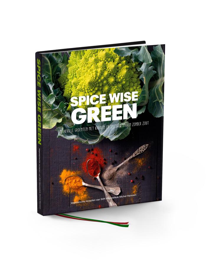 Spice Wise Green, smaakvolle groenten met kruiden en specerijenmixen zonder zout. Vegetarische recepten van SVH Meesterkok Michel Hanssen.