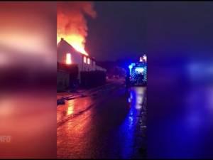Une maison touchée par la foudre réduite en cendres à Lasne