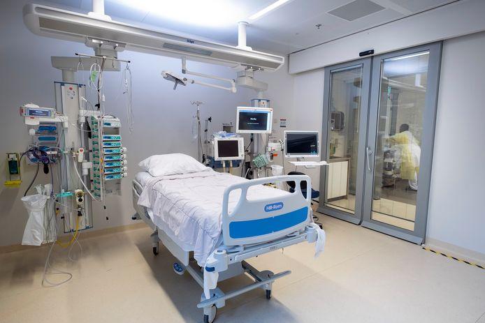 De Intensive Care afdeling in het Erasmus Medisch Centrum in Rotterdam