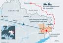 Het transport van de Buk-raket naar Oekraïne en weer terug naar Rusland, zoals is gereconstrueerd uit foto's, video en getuigenverklaringen.