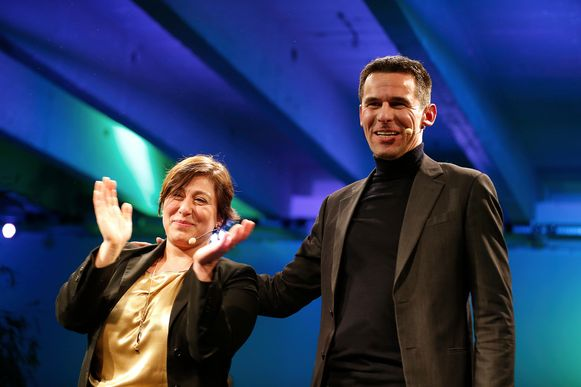 Groen-voorzitster Meyrem Almaci en Ecolo-voorzitter Jean-Marc Nollet organiseerden vorige maand nog samen een nieuwjaarsreceptie voor hun partijen.