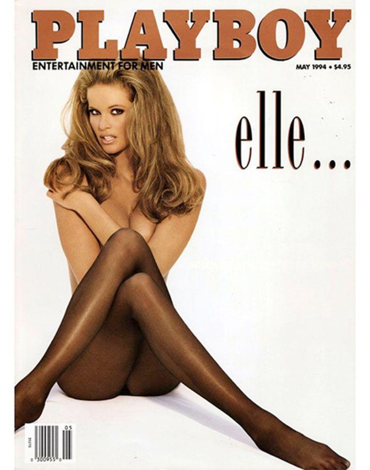 En dat zorgde ervoor dat ze in datzelfde jaar ook naakt ging voor Playboy.