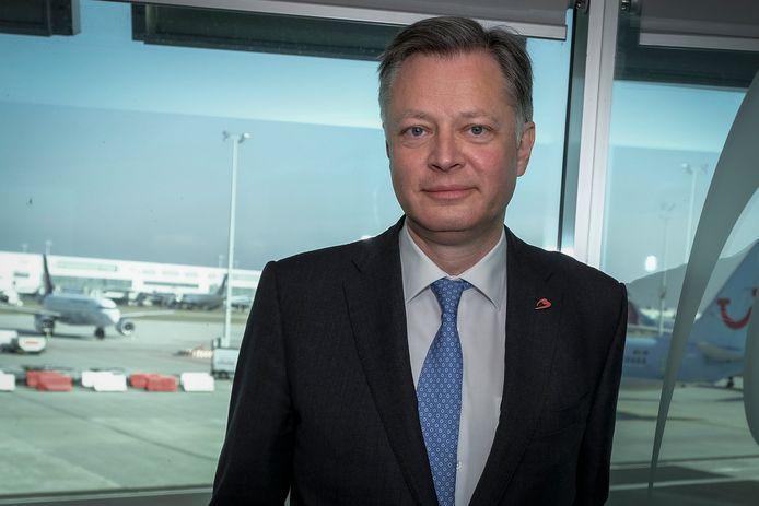 CEO van Brussel Airport Arnaud Feist verwacht dat zijn luchthaven pas ten vroegste binnen 4 jaar hersteld zal zijn van de coronacrisis.