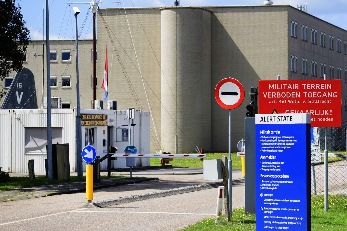 De marinebasis in Den Helder.