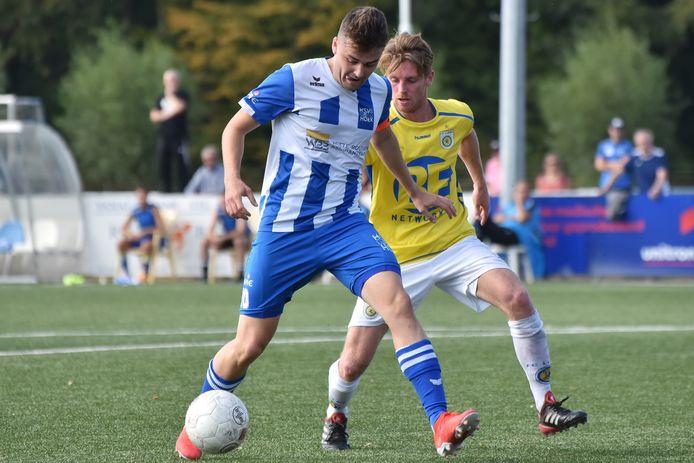 Rik Impens (hier op archiefbeeld) scoorde zaterdag voor Hoek tegen FC Lisse.
