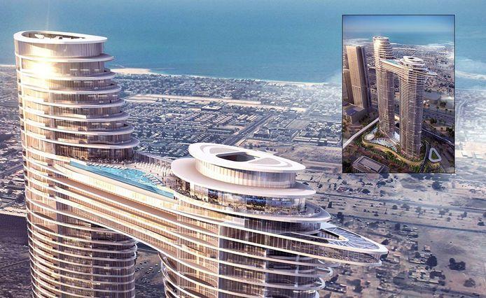 Othman El B. possède également un appartement dans le prestigieux hôtel Residence Sky View.