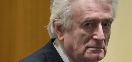 Karadzic gaat levenslange celstraf voor genocide Srebrenica uitzitten in Verenigd Koninkrijk