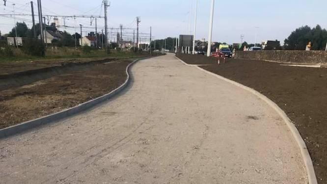 Aanleg van fietspad naast N177 nadert eindfase