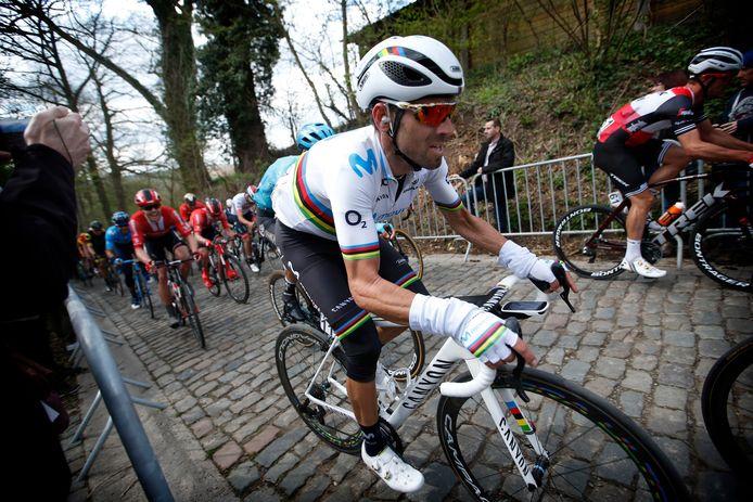 Ook dit jaar nam Alejandro Valverde deel aan Dwars door Vlaanderen.
