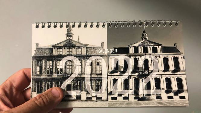 Lode vereeuwigt Roeselare van vroeger en nu op kalender