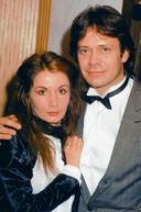 In 1982 met zijn inmiddels ex-echtgenote Belinda Meuldijk.