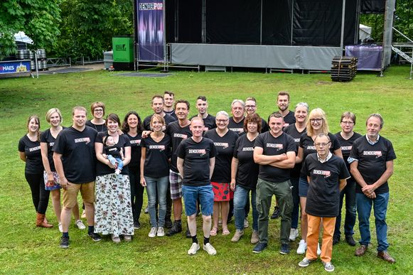 Bij de organisatie van het festival zijn heel wat medewerkers betrokken.