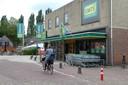 De oude EMTÉ wordt op termijn afgebroken om plaats te maken voor een nieuw bouwblok waarin de supermarkt Jumbo terugkeert.