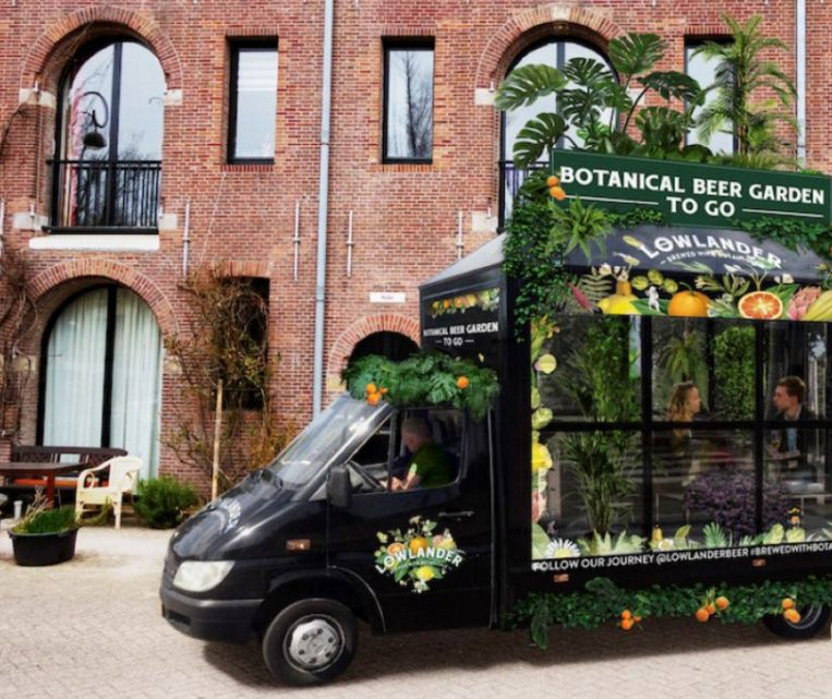 De Botanical Beer Garden To Go. Beeld